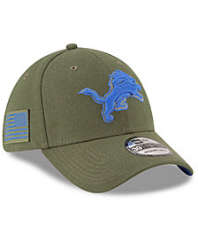 New Era Detroit Lions Salute To Service 39THIRTY Cap