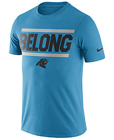 Nike Men's Carolina Panthers Dri-Fit Cotton Local T-Shirt