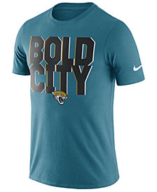 Nike Men's Jacksonville Jaguars Dri-Fit Cotton Local T-Shirt