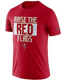 Nike Men's Tampa Bay Buccaneers Dri-Fit Cotton Local T-Shirt