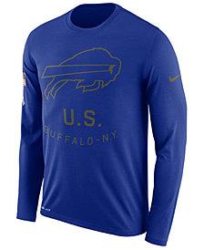 Nike Men's Buffalo Bills Salute To Service Legend Long Sleeve T-Shirt