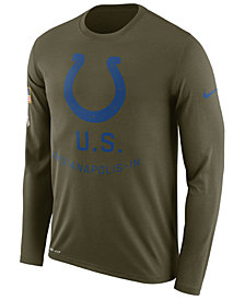 Nike Men's Indianapolis Colts Salute To Service Legend Long Sleeve T-Shirt