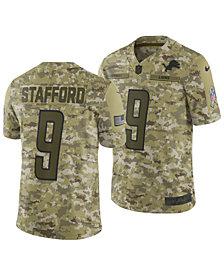 Nike Men's Matthew Stafford Detroit Lions Salute To Service Jersey 2018