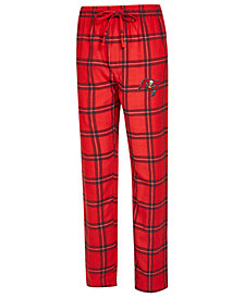 Concepts Sport Men's Tampa Bay Buccaneers Homestretch Flannel Sleep Pants