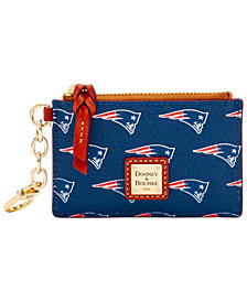 Dooney & Bourke New England Patriots Zip Top Card Case