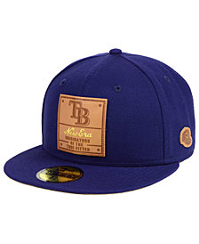 New Era Tampa Bay Rays Vintage Team Color 59FIFTY FITTED Cap