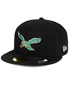 Philadelphia Eagles Team Basic 59FIFTY Fitted Cap