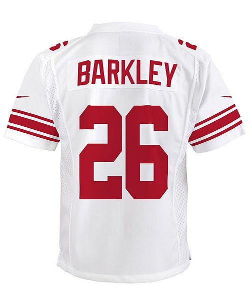 f9bf8f129bd wholesale nike saquon barkley new york giants color rush jersey big boys 8  20 sports fan