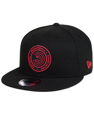 New Era Atlanta Hawks Circular 9fifty Snapback Cap