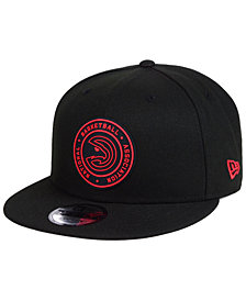 New Era Atlanta Hawks Circular 9FIFTY Snapback Cap