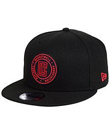 New Era Los Angeles Clippers Circular 9FIFTY Snapback Cap