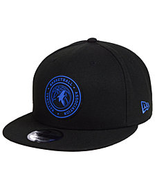 New Era Minnesota Timberwolves Circular 9FIFTY Snapback Cap
