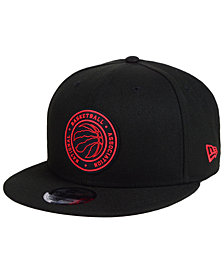 New Era Toronto Raptors Circular 9FIFTY Snapback Cap