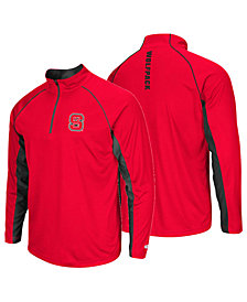 Colosseum Men's North Carolina State Wolfpack Rival Quarter-Zip Pullover