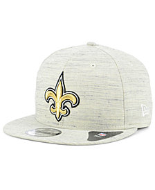 New Era New Orleans Saints Luxe Gray 9FIFTY Snapback Cap