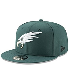 Philadelphia Eagles Logo Elements Collection 9FIFTY Snapback Cap