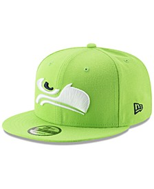Seattle Seahawks Logo Elements Collection 9FIFTY Snapback Cap