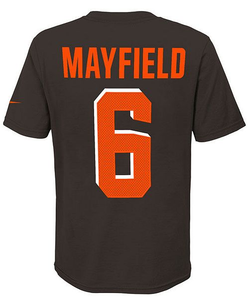 new styles 3061a d9093 Baker Mayfield Cleveland Browns Pride Name and Number 3.0 T-Shirt, Big Boys  (8-20)