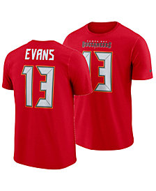 Nike Men's Mike Evans Tampa Bay Buccaneers Pride Name and Number Wordmark T-Shirt