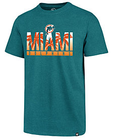 '47 Brand Men's Miami Dolphins Regional Slogan Club T-Shirt