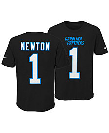 Nike Cam Newton Carolina Panthers Pride Name and Number 3.0 T-Shirt, Big Boys (8-20)