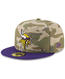 New Era Minnesota Vikings Vintage Camo 59FIFTY FITTED Cap