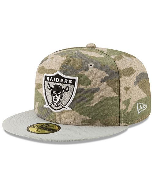784d82bbcad New Era Oakland Raiders Vintage Camo 59FIFTY FITTED Cap   Reviews ...