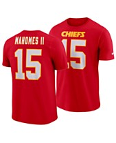 Nike Men s Pat Mahomes Kansas City Chiefs Pride Name and Number Wordmark T- Shirt d1414abcb