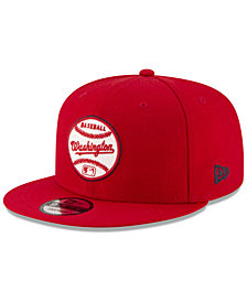New Era Washington Nationals Vintage Circle 9FIFTY Snapback Cap