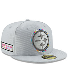 New Era Pittsburgh Steelers Crucial Catch 59FIFTY FITTED Cap