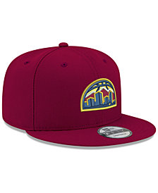 New Era Denver Nuggets Basic 9FIFTY Snapback Cap 2018