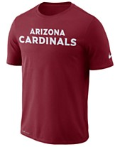 Nike Men s Arizona Cardinals Dri-FIT Cotton Essential Wordmark T-Shirt 2719fab857