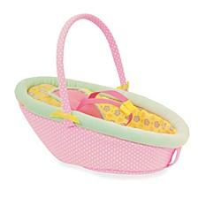 Manhattan Toy Baby Stella Cute Comfort Car Seat For 15 Inch Baby Dolls