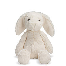 Manhattan Toy Lovelies White Riley Rabbit 12 Inch Plush Toy