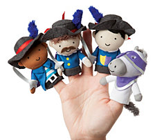 Manhattan Toy Storytime Musketeer Mates Finger Puppet Set