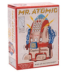 Schylling Vintage Mr Atomic Robot 4In