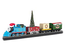 Bachmann Trains Thomas Christmas Express Ho Scale Ready To Run Electric Train Set
