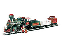 Bachmann Trains Night Before Christmas Large G Scale Ready To Run Electric Train Set