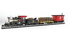 Bachmann Trains North Woods Logger Large G Scale Ready To Run Electric Train Set