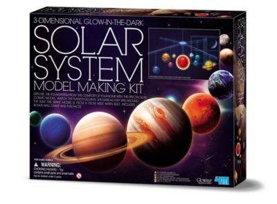 4M 3D Glow In The Dark Solar System Model Making Science Kit Stem