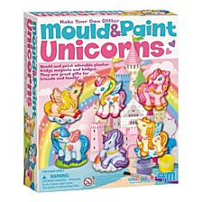 Make Your Own Glitter Mould And Paint Unicorns Kit