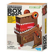 4M Green Science Eco Engineering Motorized Box Dino