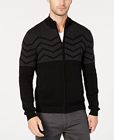 Alfani Men's Patterned Cardigan, Created for Macy's