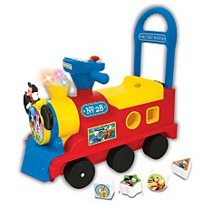 Kiddieland Disney Mickey Mouse Clubhouse Play N Sort Activity Train Ride On