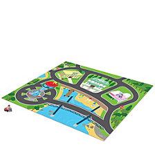 Tcg Toys Paw Patrol Original Mega Mat Play Mat With Bonus Vehicle