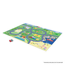 Tcg Toys Peppa Pig Jumbo Mega Mat Play Mat With 2 Bonus Vehicles