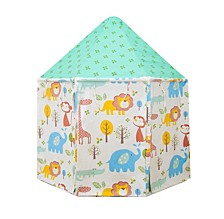 Animal Kingdom Pavilion Indoor Canvas Playhouse Play Tent For Kids