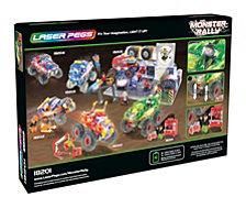 Laser Pegs Monster Rally Green Monster Offroad Truck 290 Piece Construction Block Set