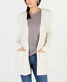 Style & Co Petite Open-Front Cardigan Sweater, Created for Macy's