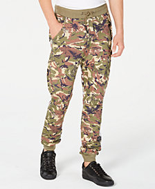 Punk Royal Men's Camo Print Jogger Pants